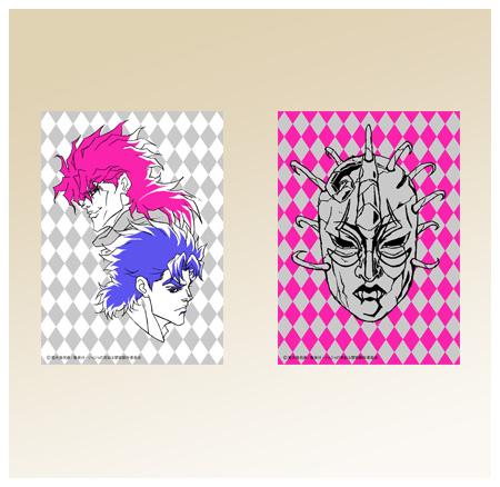 TVアニメ「ジョジョの奇妙な冒険」 カードスリーブ Vol.1ジョナサン&ディオ Vol.2石仮面